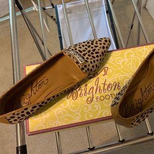 Brighton Cheetah Hair Print Shoes